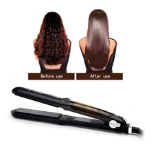 New Steam Straightener Professional Hair Straightener Ceramic Fast Heat Vapor Flat Iron Led Ferro Plate Hair styling tool