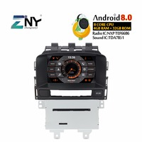 Android 8.0 Car DVD Player 2Din Auto Radio For Opel Vauxhall Astra J CD300 CD400 7 IPS GPS Navigation Stereo Free Backup Camera
