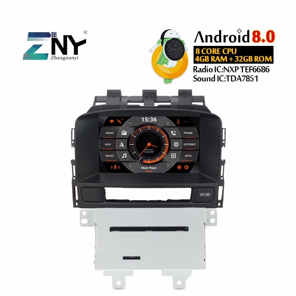 android 8 0 car dvd stereo 2 din autoradio for opel vauxhall astra j cd300  cd400 7