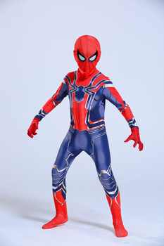 Avengers Iron Spiderman Costume Spider Man Suit Spider-man Halloween Costumes Men Adult Kids Spider-Man Cosplay Clothing - DISCOUNT ITEM  20% OFF All Category