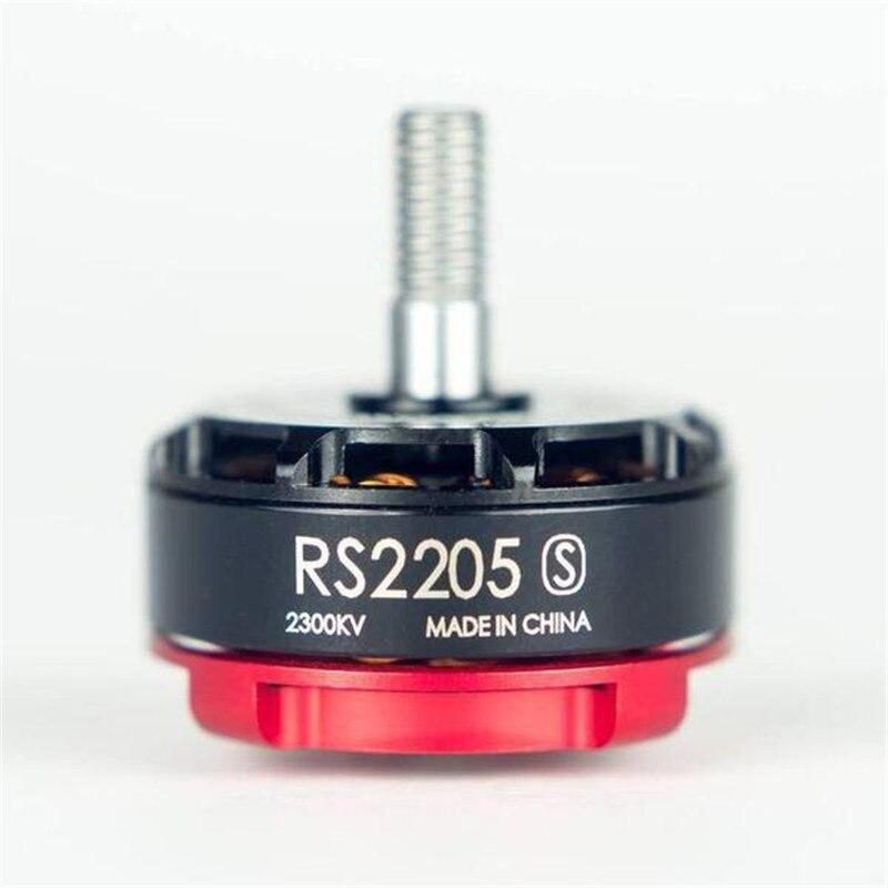 1 unid original Emax RS2205S 2300KV 2600KV sin escobillas Motores para FPV Racing Quad versión mejorada de RS2205 +