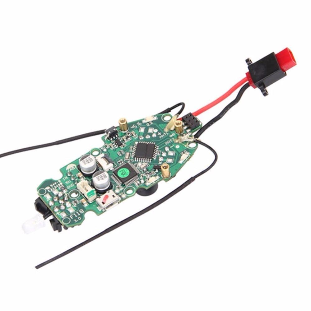Walkera Rodeo 110 Racing Drone części zamienne: 110 Z 15 listwa zasilająca (główny kontroler i odbiornik w zestawie) F20349 w Części i akcesoria od Zabawki i hobby na  Grupa 1