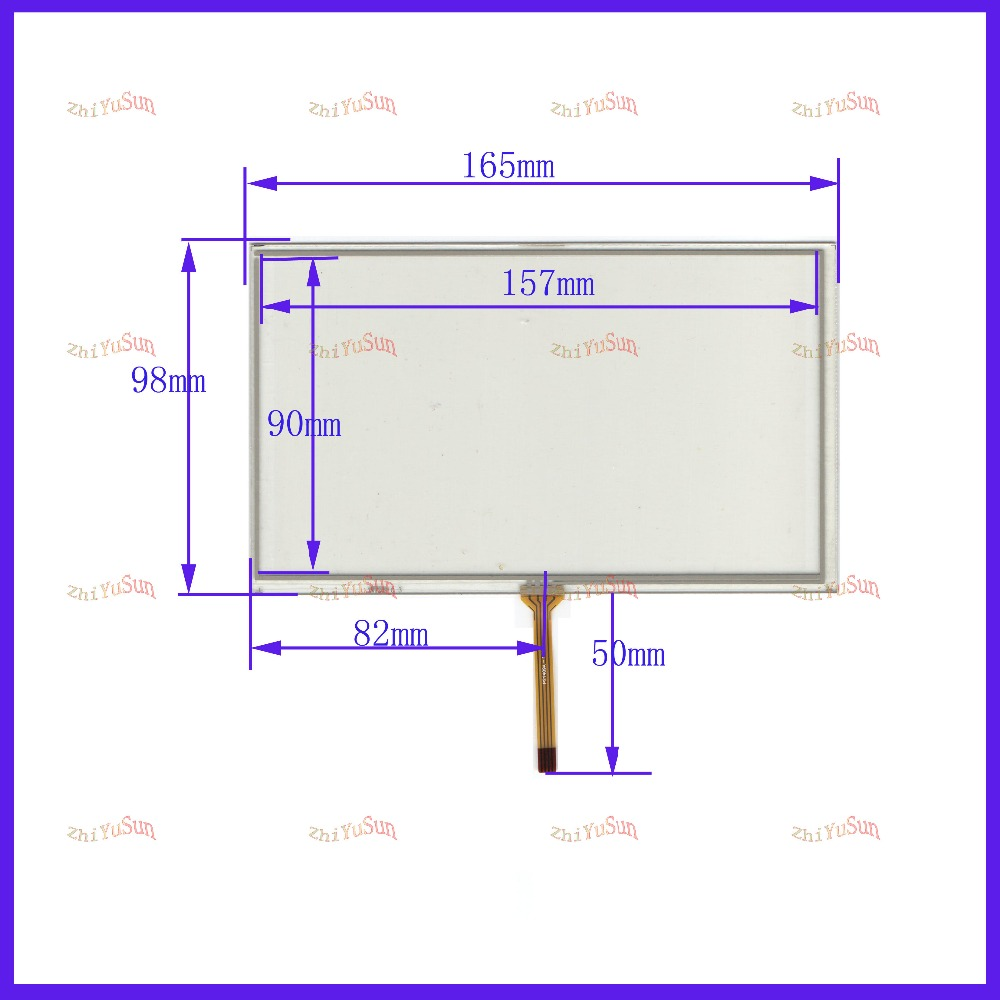 ZhiYuSun Compatible HC-173-070 Touch Screen Sensor For Industrial Control Resistance Screen 7inch 4lines