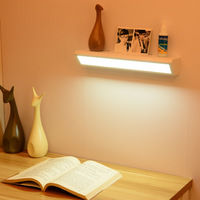 현대 선반 Led 벽 Sconce 전등 화이트 블랙 램프 홈 하우스 장식 침대 옆 침대 룸 거실 살롱 데코 광택