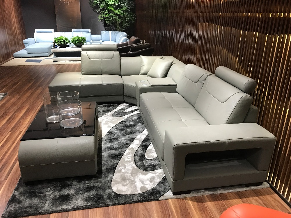 Sofa Set Living Room Furniture Sectional Leather Sofa Included Coffe  Table In Living Room Sofas From Furniture On Aliexpress.com | Alibaba Group