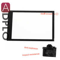 8 H Larmor GGS Protector de pantalla para Sony A7R II (ILCE-7RM2) para Sony A7 II (ILCE-7M2) Auto-adhesivo de vidrio óptico