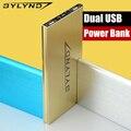 Original de lujo bylynd 20000 mah de energía de emergencia del banco de energía de reserva portable del cargador de batería para xiaomi usb para iphone samsung