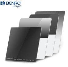 สแควร์ 75 100 150 170 มม.Benro GND 0.9 1.2 1.8 กระจกนุ่มและ Hard ย้อนกลับ Medium สีเทา gradient Mirror