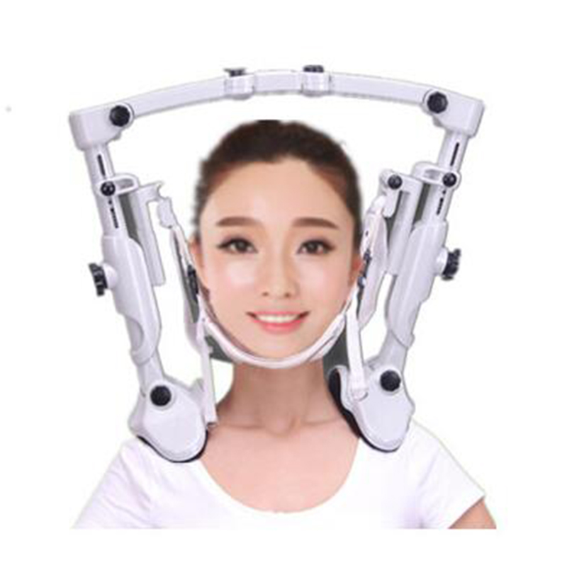 High quality family neck cervical traction apparatus fixed tension air pillow neck hung holder support around