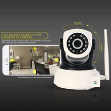 ФОТО  HD 720P  Night Vision IR Webcam Web CCTV Camera WIFI Wireless IP Camera Pan Tilt CCTV Cameras