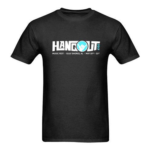 Gildan Hangout Music Fest Tshirt Black New Mens T-Shirt Size S to 3XL