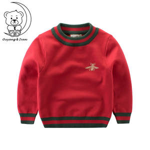 ouyangivan autumn knitted boys children kids sweater
