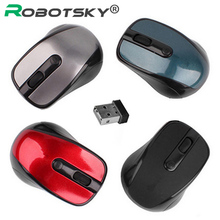 1000DPI Wireless Mouse Mini Optical Mouse Laptop Mice 2.4G 10m with Dongle for Computer PC Windows 7 8 10 Vista XP