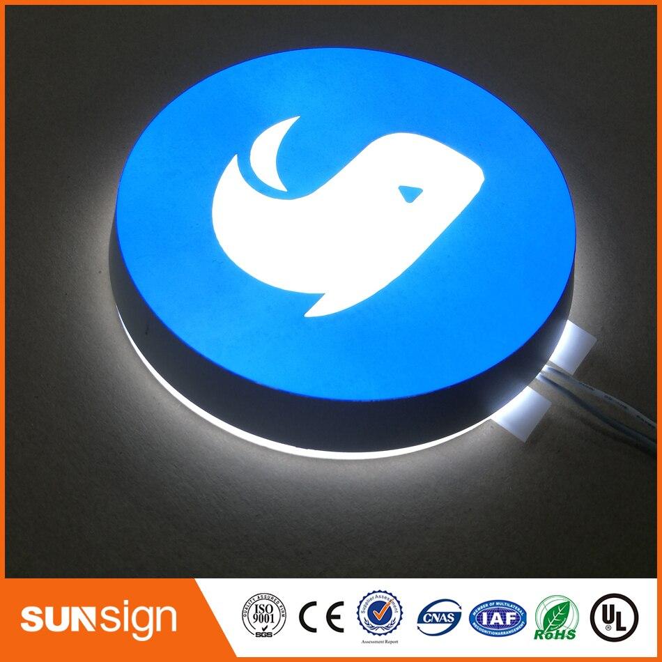 Custom Acrylic Led Backlit Light Box Letters Sign