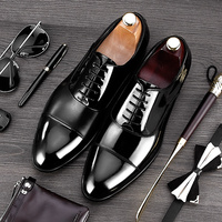 RUIMOSI 2017 Formal Derby Man Dress Shoes Male Patent Leather Handmade Oxfords Luxury Brand Men S