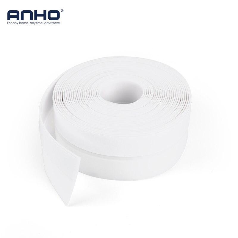 5M Sealing Tape Window Self Adhesive Silicone Waterproof DIY Cut 35mm Living Room Bedroom White Door Strip Home Accessories