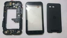 For Motorola Defy MB525 ME525 MB526 Touch Screen Digitizer Glass with Frame (With Logo) ; Free Shipping