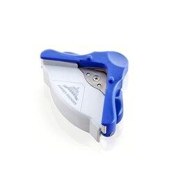 R5 DIY мини-угловой круглый 5 мм бумажный перфоратор для карт, инструмент для фотосъемки с круговым узором, канцелярские товары, ручное отверст...