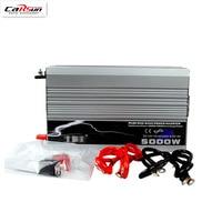 5000W Car Power Inverter DC 12v/24v/48v To AC 220V Pure Sine Wave 5KW Power Inverter Use In Car/ Truck/ Boat