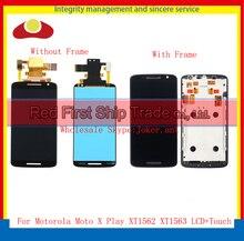 "5,5 ""für Motorola Moto X Spielen XT1561 XT1562 XT1563 Voll Lcd Display Touchscreen Digitizer Sensor Montage Komplett mit Rahmen"