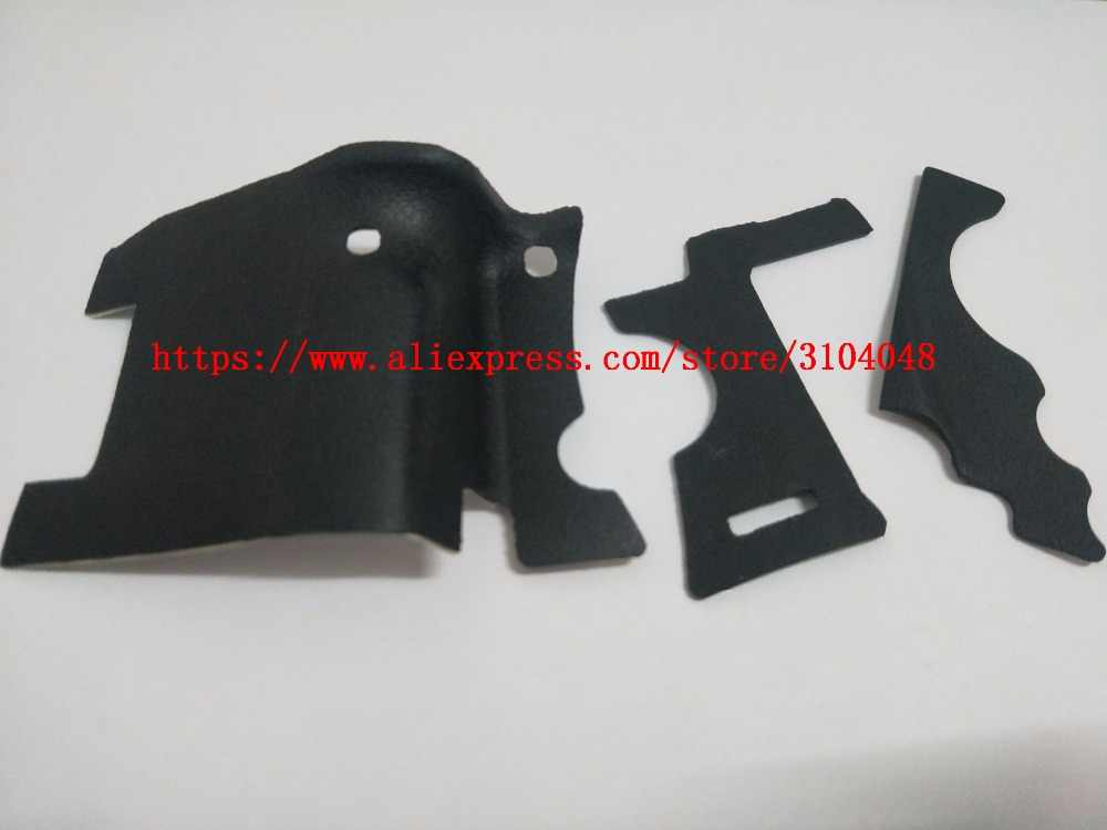 3PCS NEW Body Rubber Shell For Canon EOS 5D Mark II Tape 5DII 5D2 Repair Part