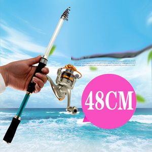 Image 1 - 2019 new design short hard 1.8 3.6M spinning rock fishing rod ultralight protable carbon travel rod for seafshing pesca pole