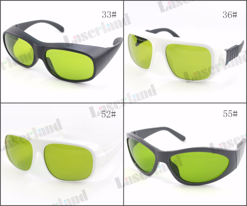 LP-YHP 800nm-1100nm OD5+ 1060nm1070nm OD7+ Laser Protective Goggles Safety Glasses 33#