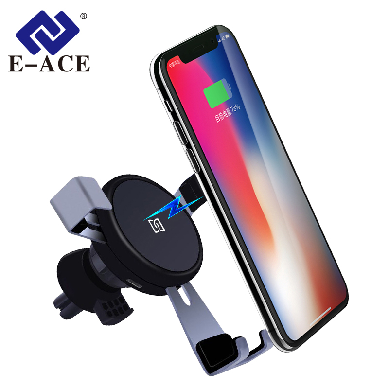E ACE Car Wireless Charger Gravity Wireless Car Charger