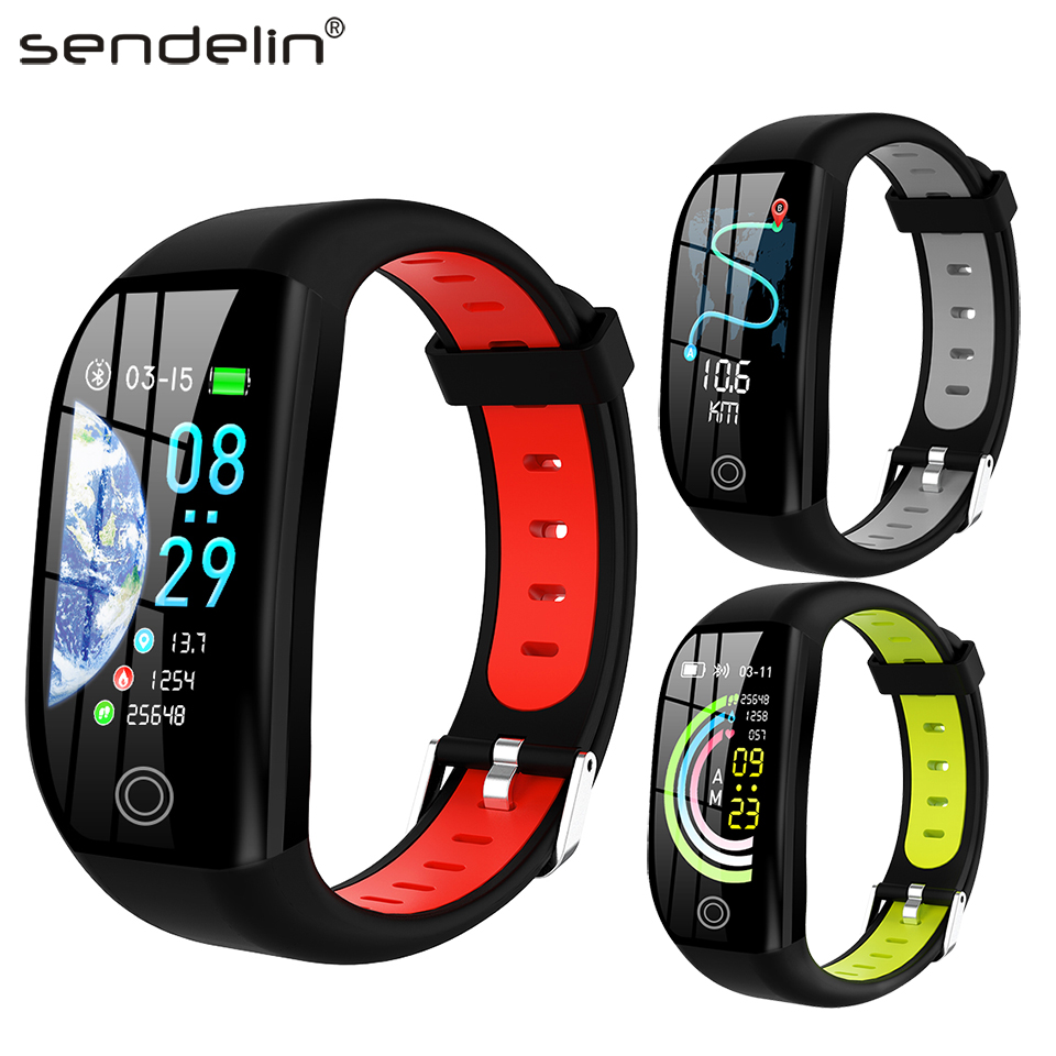 Fitness Bracelet Activity Tracker Heart Rate Blood Pressure Monitor Sport Smart Band Watch for Android Xiaomi phone PK mi band 4 image