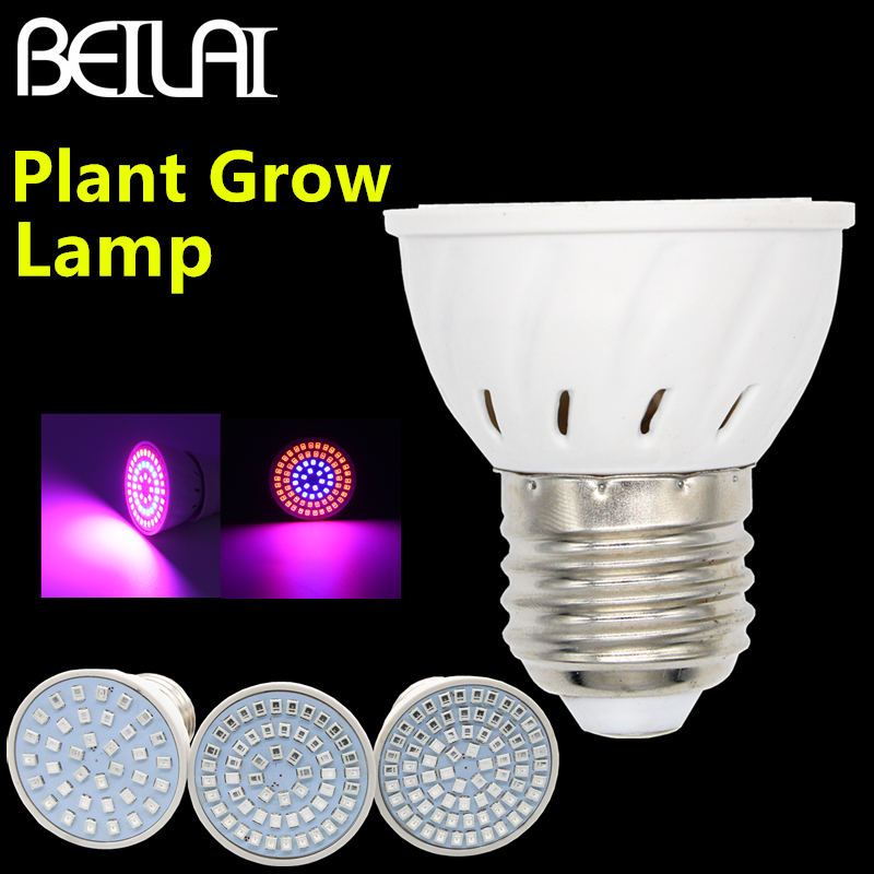 Full Spectrum LED Grow Light 2835 SMD Lampada LED Lamp E27 220V Marine Aquarium LED Grow Tent Bulb Aquario For Plant Vegetables