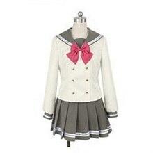 LoveLive ซันไชน์ Aqours Tsushima Yoshiko คอสเพลย์ญี่ปุ่นอะนิเมะรัก Live สาวกะลาสี School Uniform ชุดเสื้อผ้า