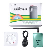 Alfa USB AWUS036NH Ralink3070 Chipset 2000mW High Power Wireless N USB Adapter