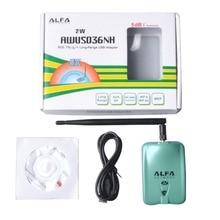 Alfa USB AWUS036NH Ralink 3070L Чипсет 2000 МВт высококачественные копии Беспроводной N USB WiFi адаптер 150 Мбит Беспроводной USB Wi-Fi сетевой карты