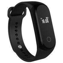 A16 сердечного ритма Мониторы Smart Band Фитнес трекер Спорт Браслет Шагомер Bluetooth наручные часы smartband для iOS телефона Android