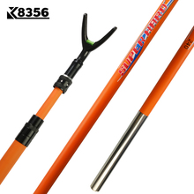 K8356 Three Sections Telescoping High Carbon Athletic Competitive Brail Rod Ultralight Ultrahard Retractable Positioning Design