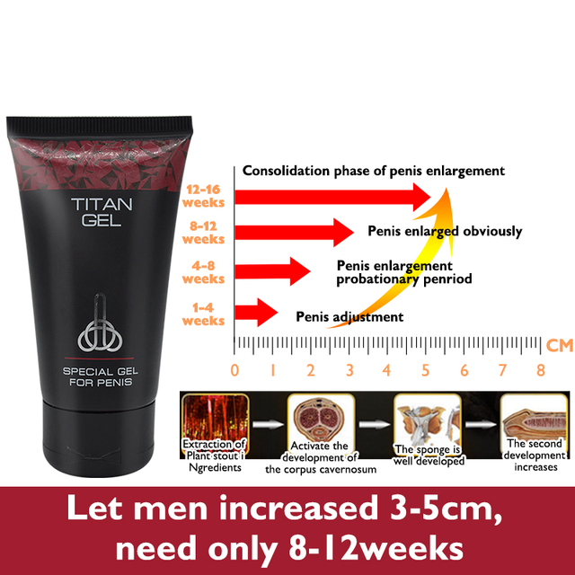 Lanthome Russian Titan Gel Penis Enlargement Cream male penis extender erection enhancer increase cock oil thickening growth