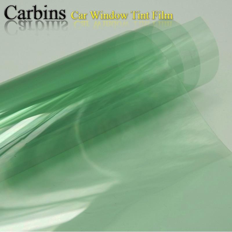 2 Ply Light Green Window Tint Film For Car Safety 70 Vlt
