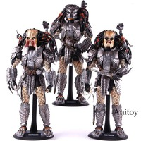 1/6 AVP Alien vs Scar Predator Action Figure Hot Toys MMS190 PVC Collectible Model Toy Collector's Edition