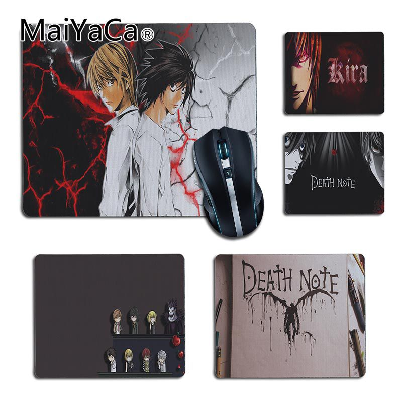 MaiYaCa Beautiful Anime Death Note Unique Desktop Pad Game Mousepad For Game Playing Lover