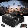 Горячая Продажа! vr shinecon Google 3D VR Картона gafas realidad виртуальный Для 4-6.2 дюймов Смартфон + Многофункциональный Bluetooth Gampad