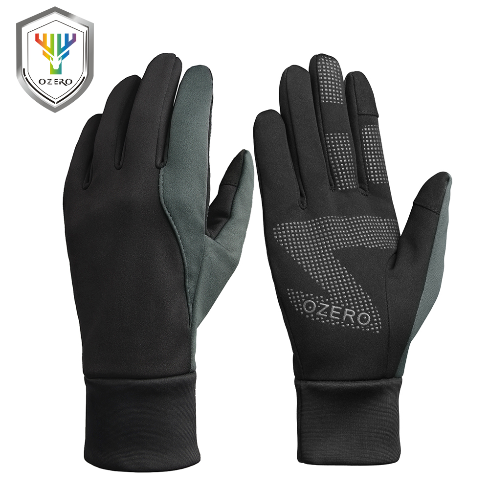 OZERO New Men Work Gloves Women Welding Gloves Windproof Polyester Insulate Cotton Waterproof TPU Gloves For Men Women 9010