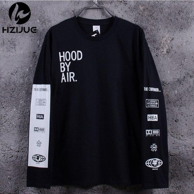 HBA T Shirt Men Summer Style Hood By Air HBA Hip Hop Street Skate swag anime fitness 3D marcas HBA T Shirt