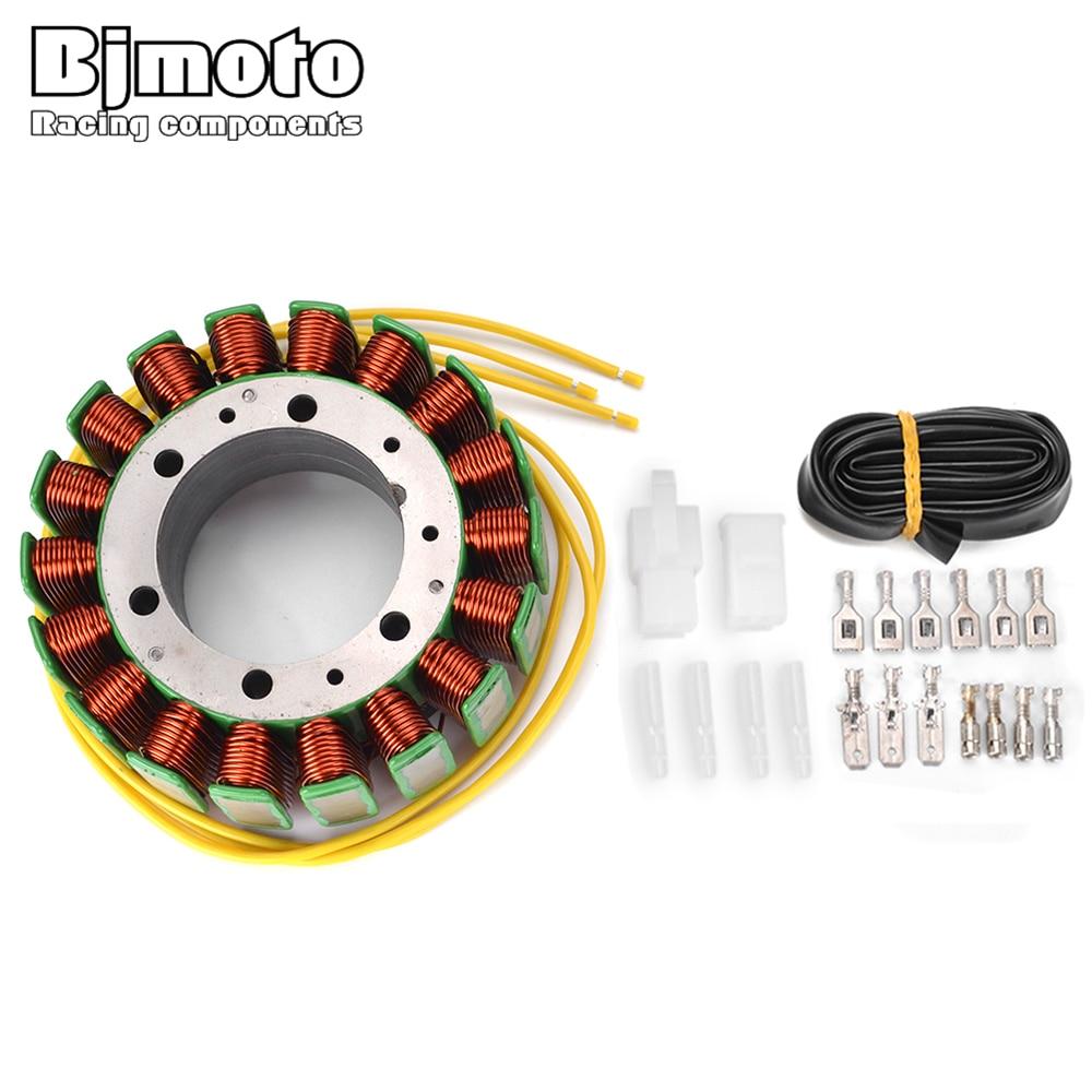 BJMOTO Generator Stator Coil For Honda VT1100 Shadow CX500 CX650 Turbo Custom GL650 for Suzuki SV1000S