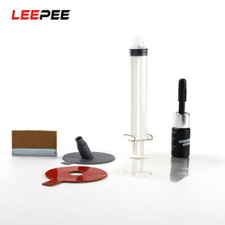 LEEPEE DIY Auto Car Glass Automobile Windshield Windscreen Automobiles Glass Repair Kit For Chip Crack Bullseye DIY Repair Kit