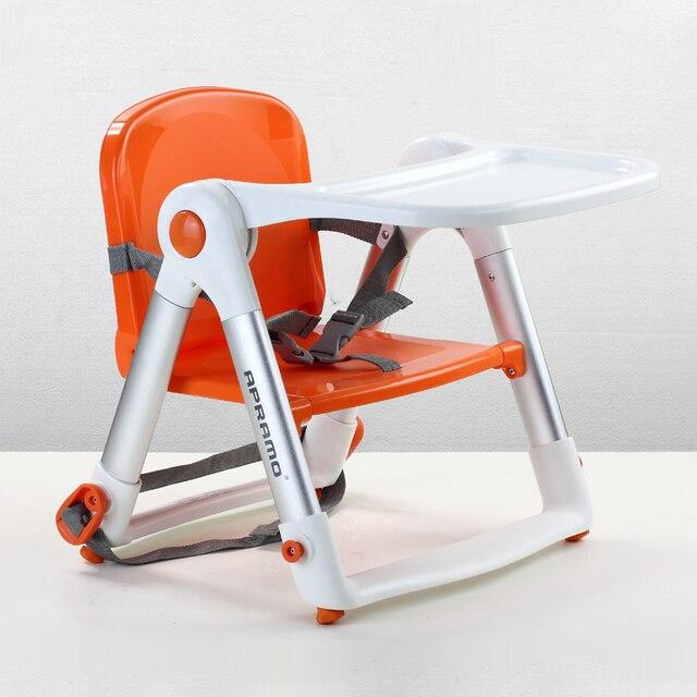 Портативный свет Детские обеденный стул складной портативный ребенок обеденный стул многофункциональный младенческой обеденный стул apramo