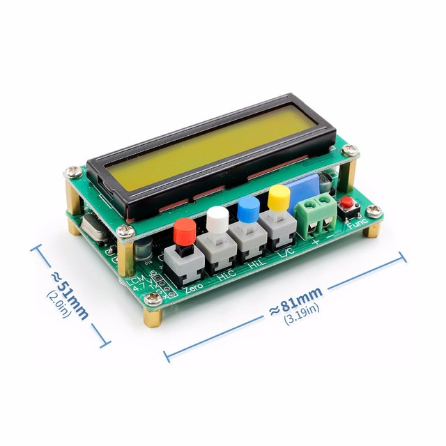 Capacitance and inductance tester 2