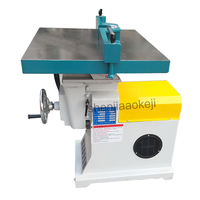 desktop Milling Machines Trimming Machine Woodworking equipment vertical high speed wood router spindle shaper machine 380v/220v