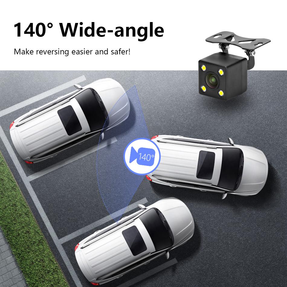 """Jansite 4,3 """"monitor de coche TFT LCD cámara de visión trasera. 8"""