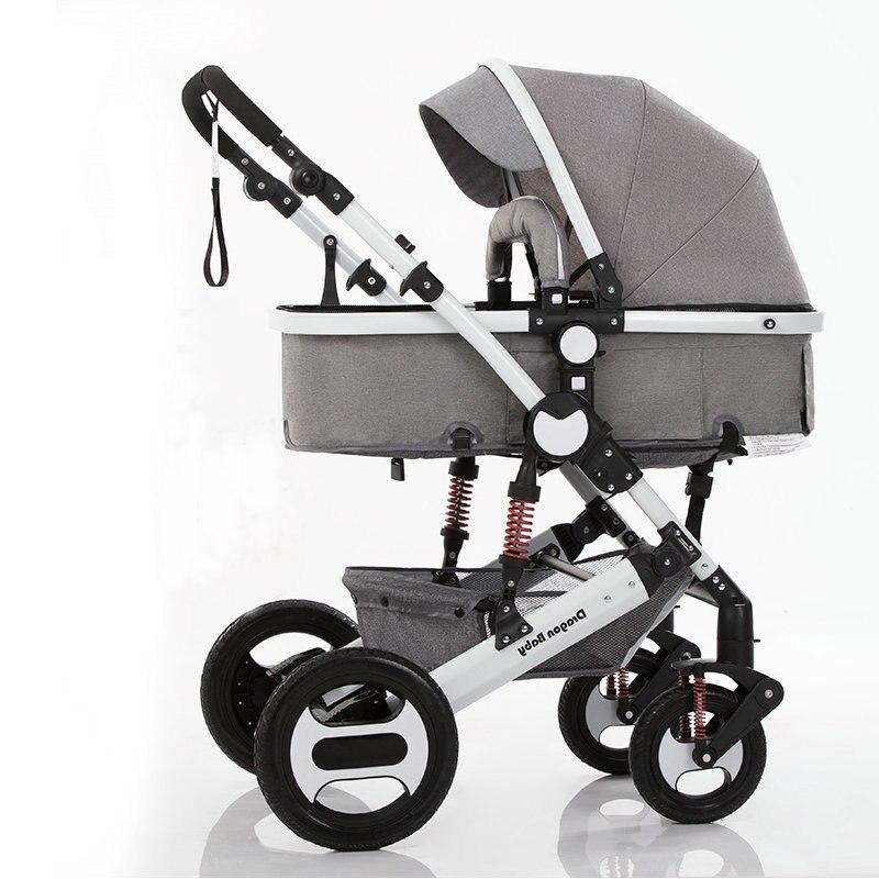 Wózek 2 w 1, kołyska zamienia się w do chodzenia, wózek jest nadaje się do zimnych porach roku wózek dla dziecka