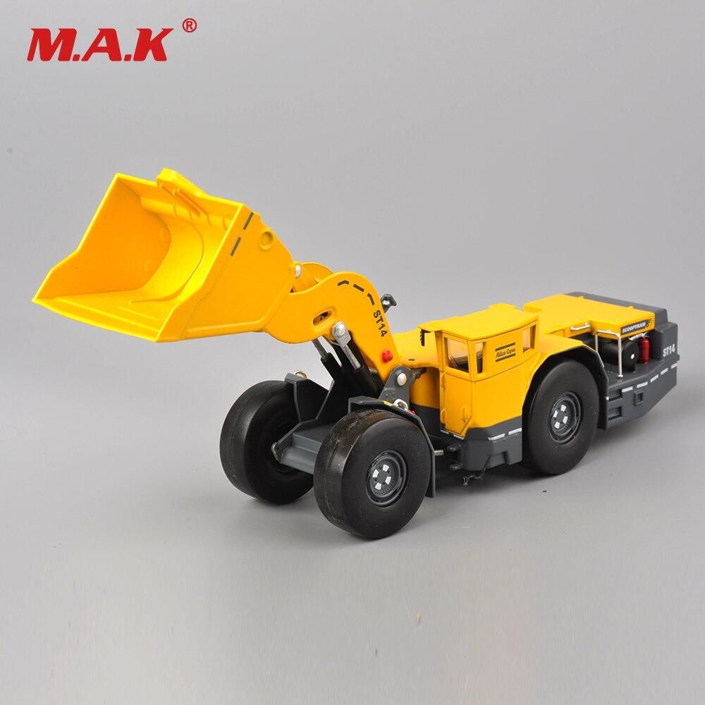 1:50 échelle moulé sous pression copco scooptram ST14 minier loder métal modèle construction ingénierie véhicules camion jouet